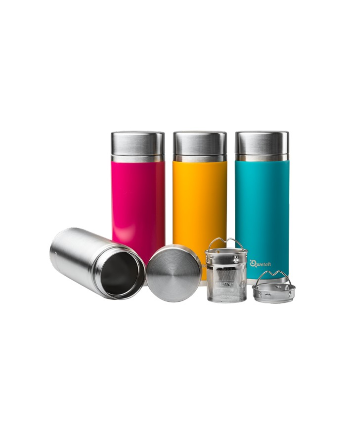 Théière nomade isotherme inox 300ml