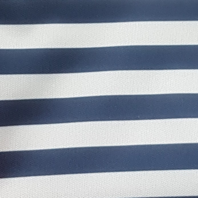 NAVY & WHITE STRIPES